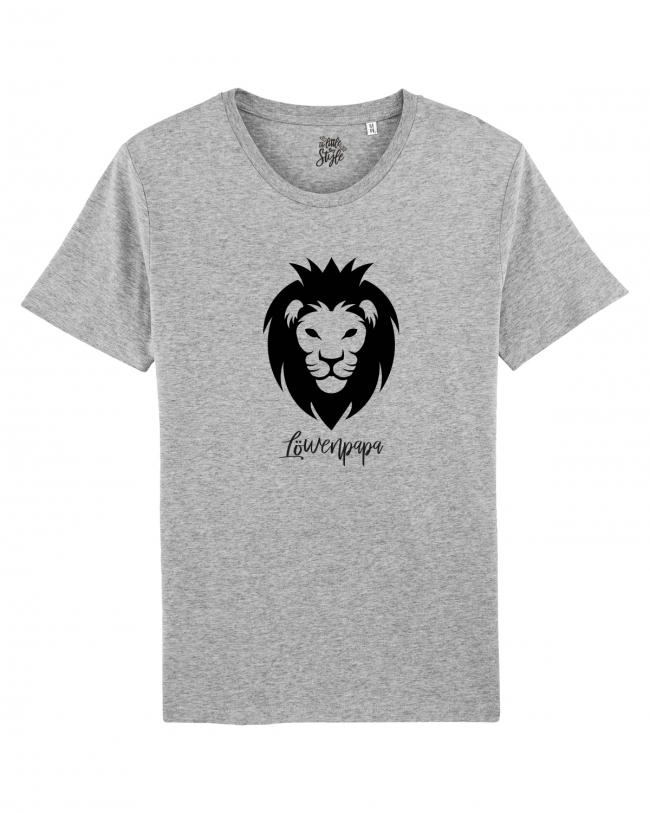 Löwenpapa Herren T-Shirt