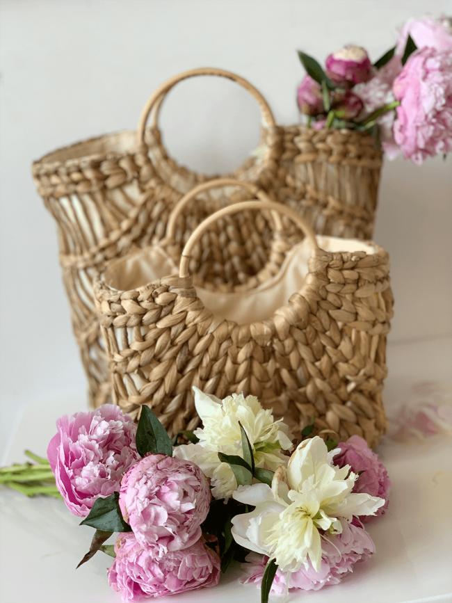 Basket-Bag Kombination gross und klein