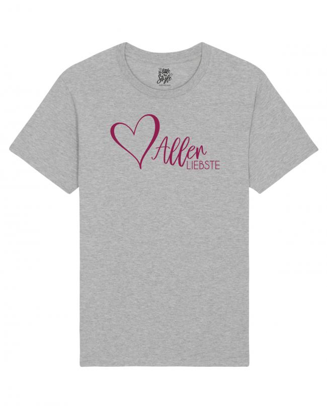 Damen Shirt Herzallerliebste - perfektes Damenshirt für den Valentinstag