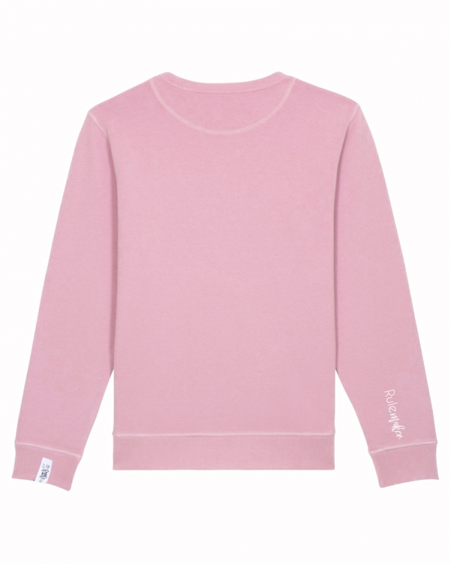 Sweater Rulemaker in Rosa