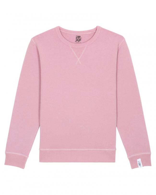 Damen Sweater Rulemaker in Rosa